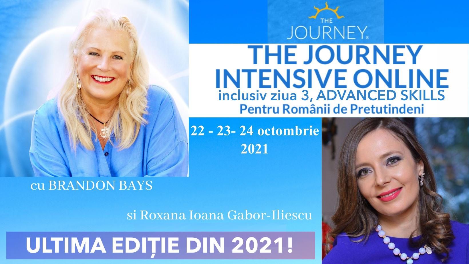 Journey Intensive On Line Română 22 24 octombrie 2021